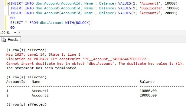 Sql Server Error Handling Demo1
