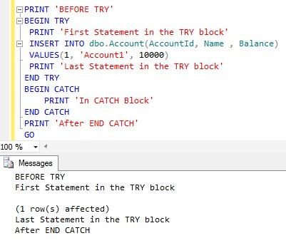 TryCatch