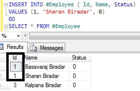 Looping through table records Sql Server 8