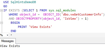 Check-View-Existence-using-sys.sql_modules
