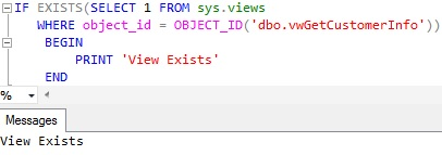Check-View-Existence-using-sys.views 2