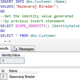 Sequence in Sql Server 1