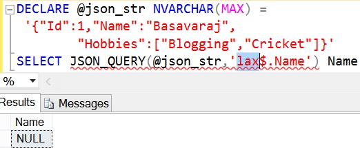 JSON_QUERY Sql Example 4 2