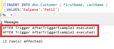 Multiple AFTER Trigger Example