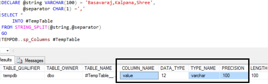 Sql STRING_SPLIT Function Example 21