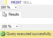 Sql Server PRINT Example 61
