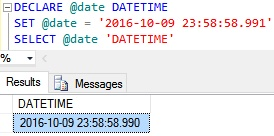 DateTime Example