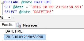 DateTime Example