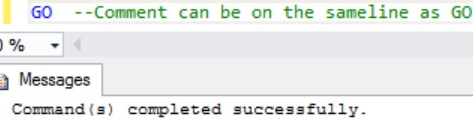 sql-go-comment-can-be-on-the-same-line-as-go-statement