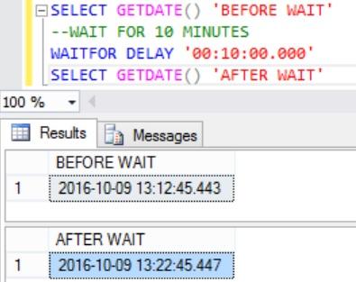 wait-for-10-minutes-in-sql-server