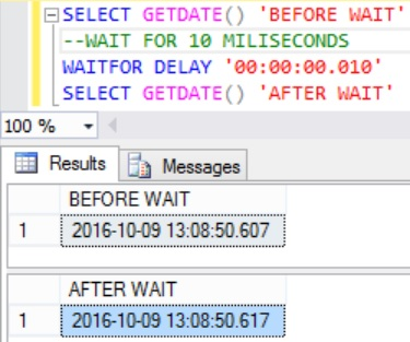 wait-for-10-milliseconds-in-sql-server