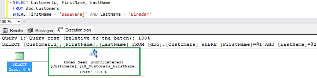 Query With FirstName and LastName