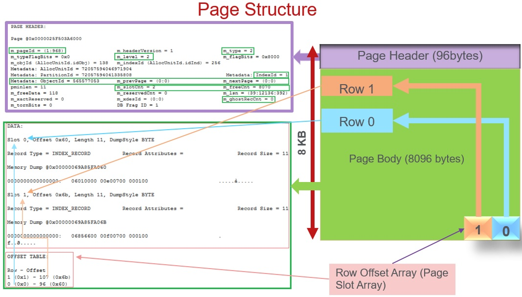 Sql Server Page Structure Explained